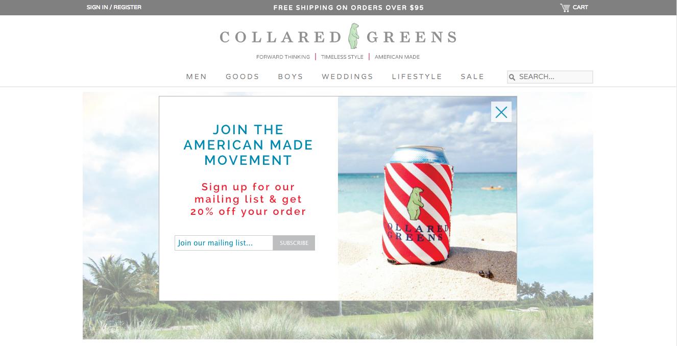 collaredgreenscoupon