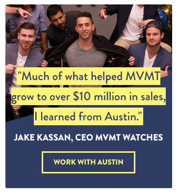Ecommerce Influencer Jake Kassan Ad