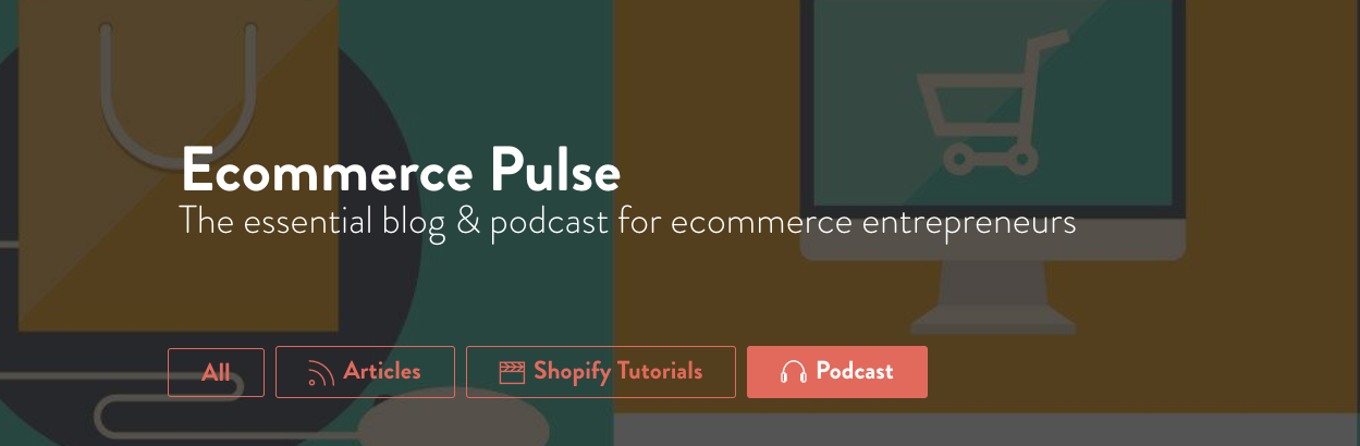 Ecommerce Pulse Page Header