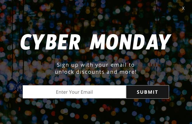Cyber Monday Promo Example