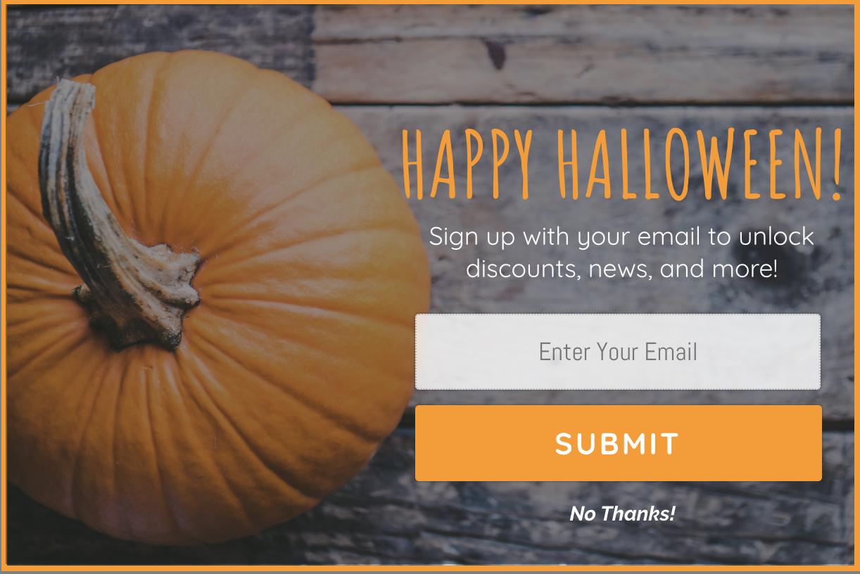 Halloween Pre-Built Template