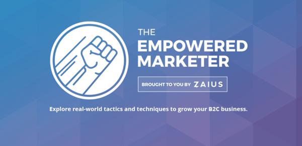 The Empowered Marketer Page Header