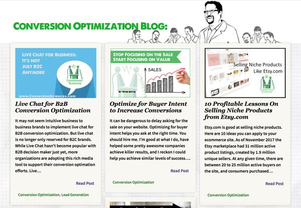 conversion sciences blog