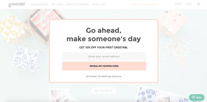 Greetabl coupon code