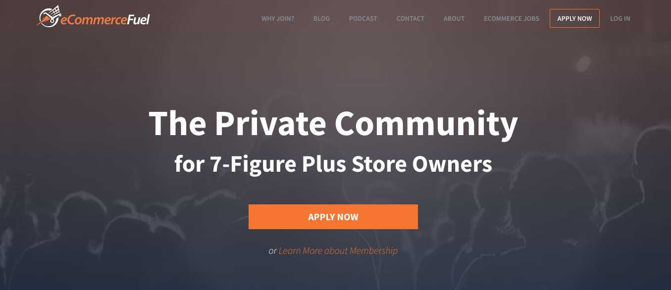 eCommerceFuel Page Header