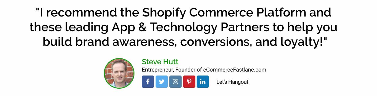 Screenshot of eCommerce Fastlane website